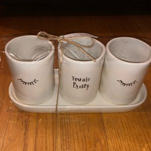 Other - RAE DUNN cup holder gift set